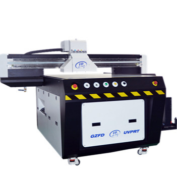 Guangzhou Multi-color Ricoh Head UV Flatbed Printer <strong>A0</strong> with CMYK and White Color for Phone Case and Tile