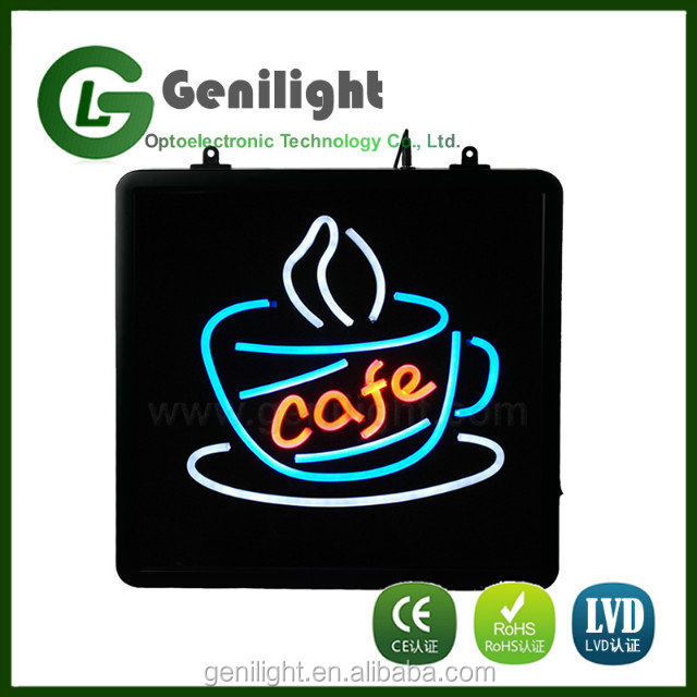 Classic Logo Cafe LED Light Neon Sign