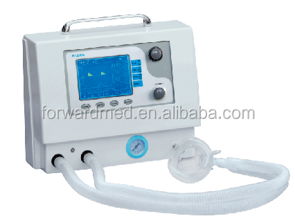 Movable ICU medical Portable ventilator ambulance ventilator price
