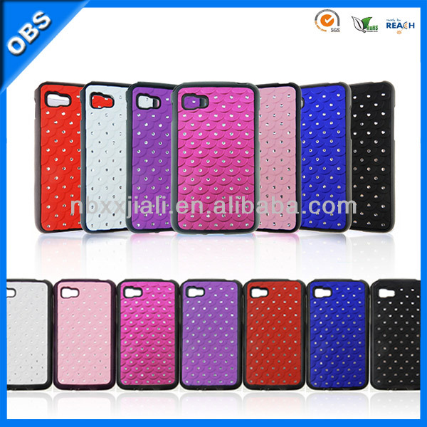 2013 new design rhinestone mobile case for iphone4/4S/5
