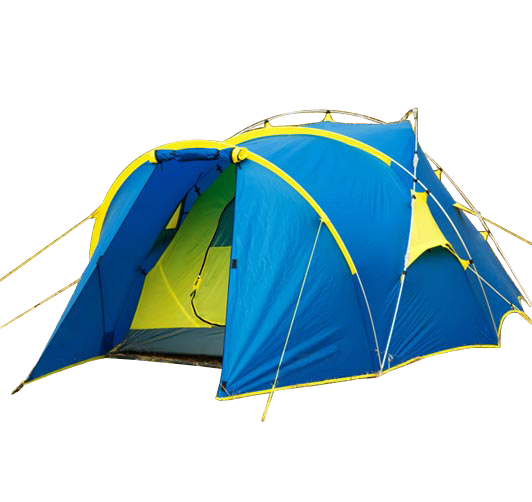OUTDOOR CAMPING TENT HIKING DOUBLE LAYER ALUMINUM POLE TENT