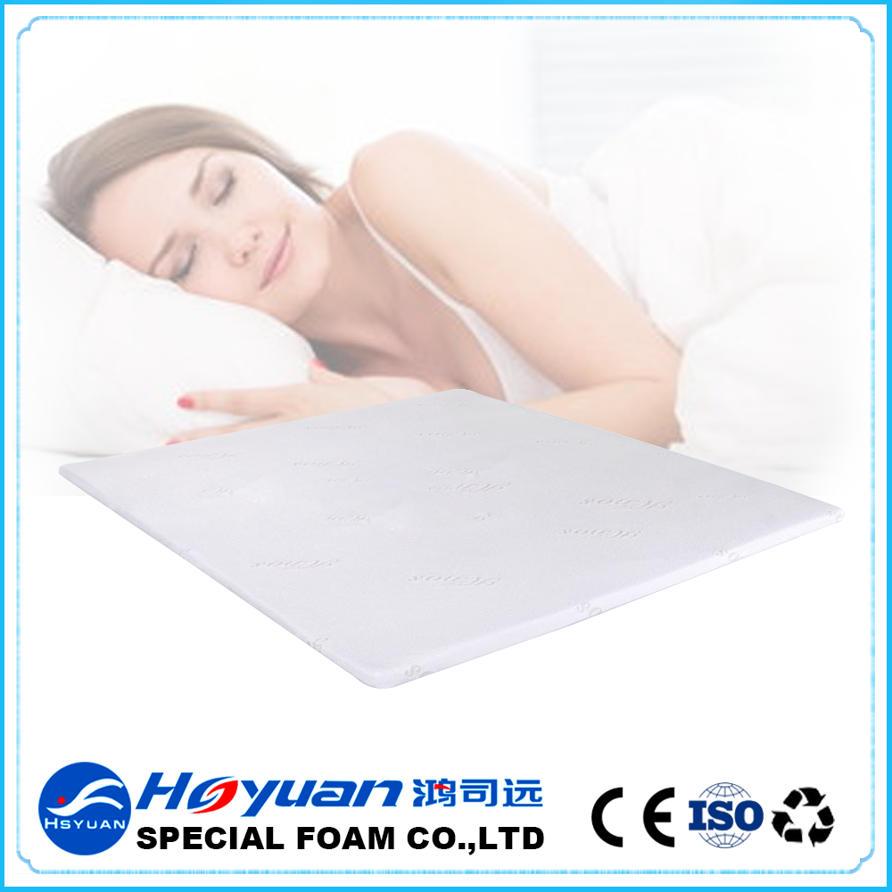 original vacuum packing bamboo fiber charcoal bed sore mattress pad with washable cover