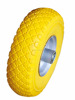 hand trolley wheels 3.00-4 pu foam wheel