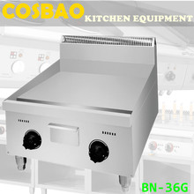 Fast food restaurant grill machine, chicken, hamburger, beef steak plate griddle machine