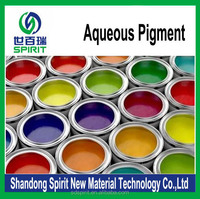 water based colorant pigment yellow