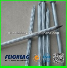 black color hardened steel concrete nail