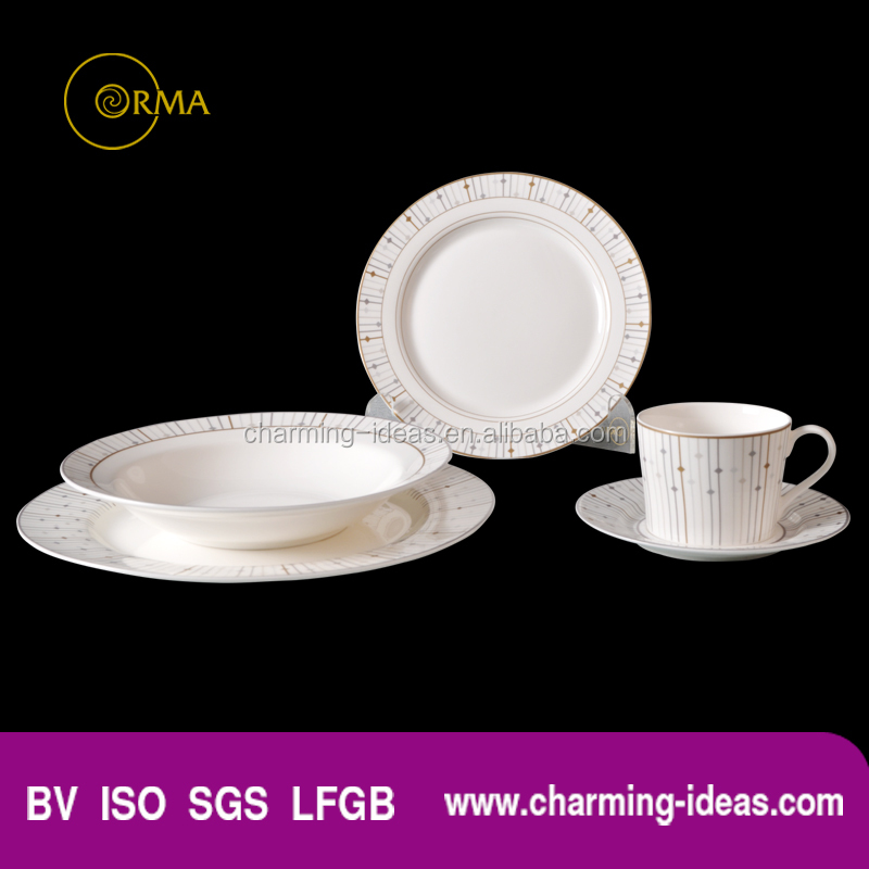 China Promotional Crockery Dinner Set For 2016