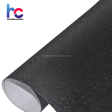 High Quality Orange Diamond Sandy Glitter Vinyl Film Wrap Roll Bubble Free For Phone Laptop Ipad Cover Size:1.52*30M