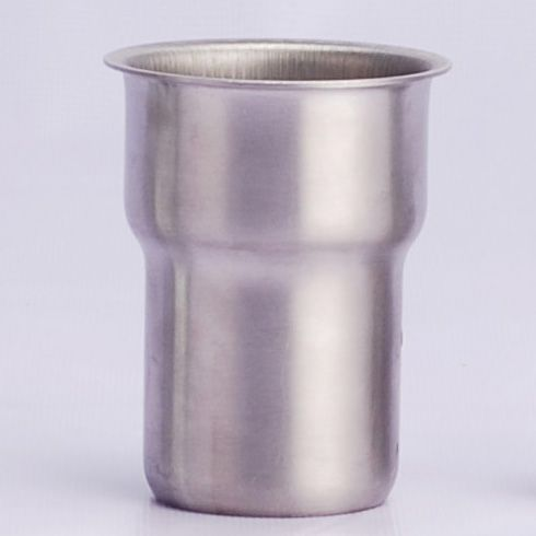 "CHG stainless steel leg socket for 1 5/8"" (41mm) round tubing"