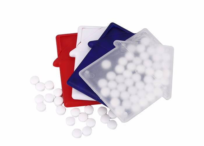 Custom logo printing or sticker promotional mints candy