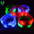 Cheap Fashion Color LED Bracelets Flashing Wrist Band For Event Party