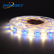 RGBW white/black pcb colorful light high efficiency smd 5050 led flexible strips