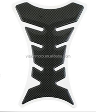 Hot sale fish-bone rubber tank protector motorcycle stickers