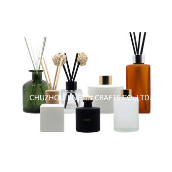 50ml 100ml 200ml glass reeds diffuser bottle perfume bottle wholesale