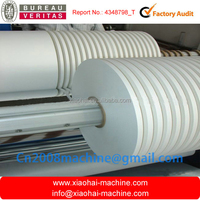 WFQ Horizontal Type Paper Jumbo Roller Slitter and Rewinder Machine With circular knives To 30mm-1300mm