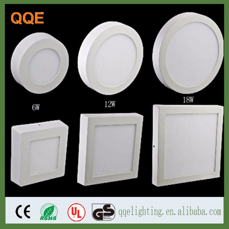 Die casting aluminum + Nano light guide plate lamp body material round 18w LED flat panel light