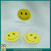 2014 smiley car air freshener,feu orange car air freshener