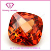 Synthetic High Quality Corundum Cushion Cut Ruby Rough Price