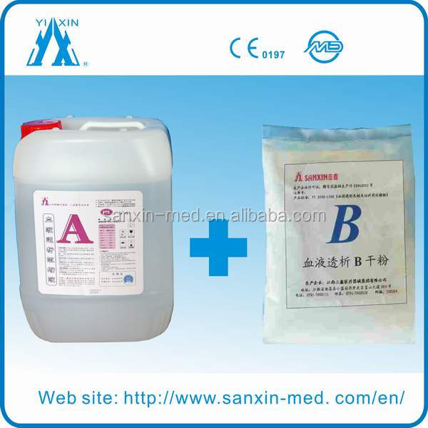 Hemodialysis Solution A & Bicarbonate Powder for Dialysis
