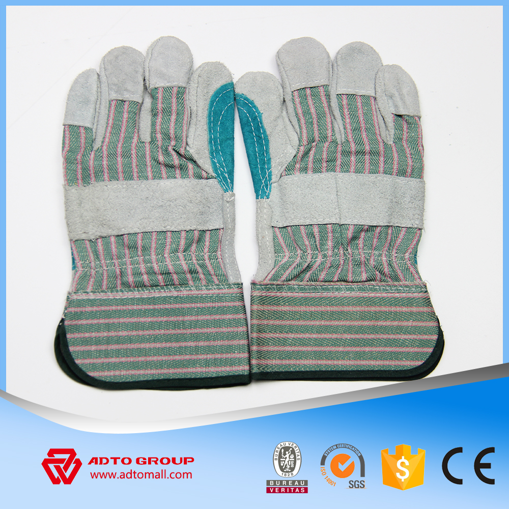 dubai importers of cut resistant heavy duty leather working industrial gloves