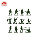 Plastic model army man plastic figure