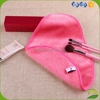 comfortable microfiber tear shape makeup removing cloth
