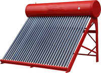 Heat water by SUN ENERGY without electric heater Solar water heater.