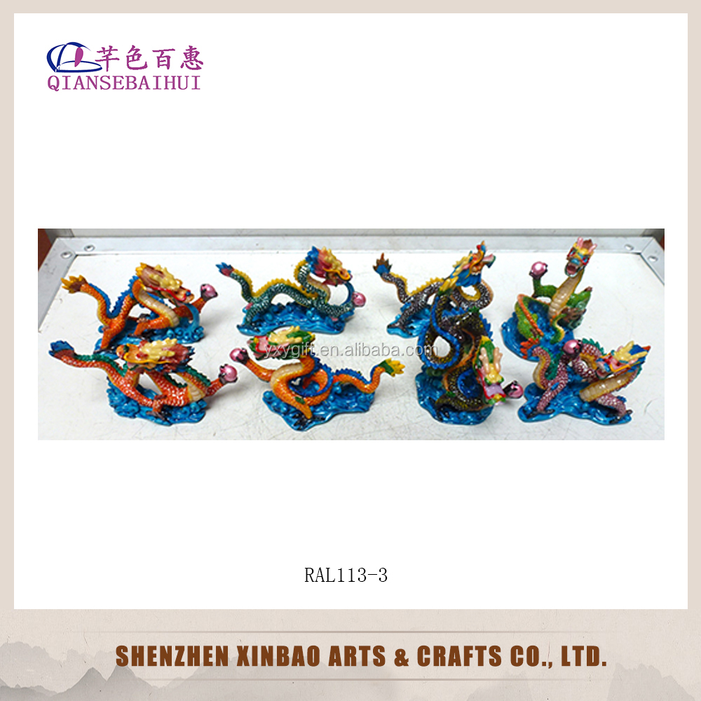 Traditional Chinese dragon handmade feng shui craft
