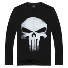 customized 55 cotton 45 polyester mens tee wool long sleeve t shirt