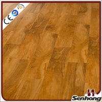 China walnut laminate wood flooring
