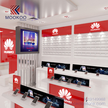 Middle East Shopping Mall Project Customized Mobile Phone Store Display Design Picture