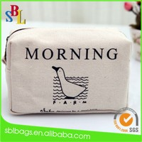 Promotional fashion canvas cosmetic bag & wholesale canvas cosmetic bag & cheap cosmetic bag alibaba shenzhen