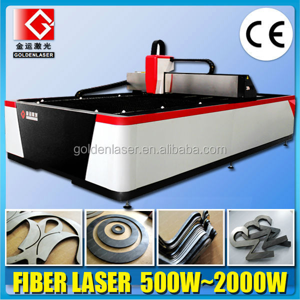 Stainless Steel Carbon Steel Sheet Metal 500W Fiber Laser Cutting System
