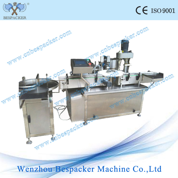 GNX-1 auto rotary bottle fill and cap machine essential oil filling machine
