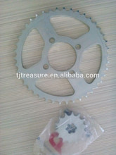 bicycle sprocket sizes/sprocket gear motorcycle for CD70 sprocket with heat treatment