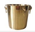 golden ice bucket stainless steel wholesale