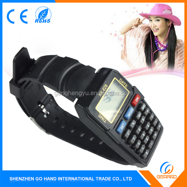 Best Quality Custom Cheap Digital Calculator Watch For Children