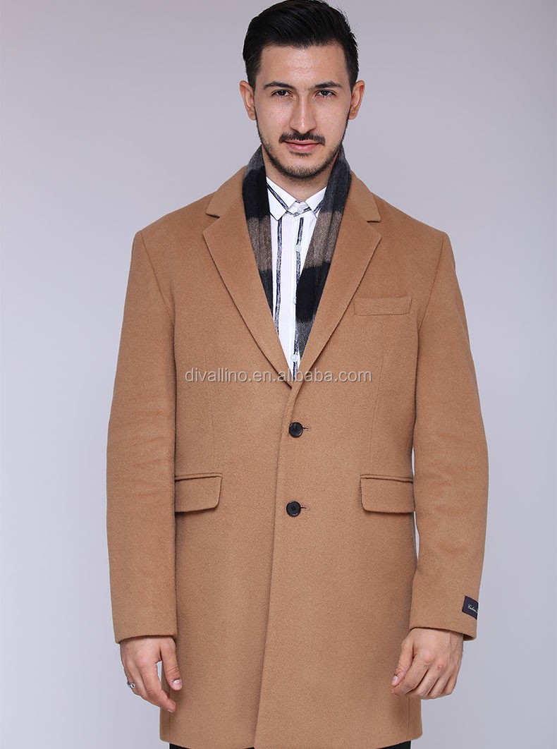 2017 One-stop Factory of Man's Custom Made Wool Coat with Factory Wholesale Prices