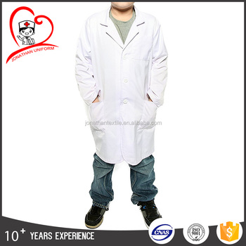 adult and children lab coat white poly cotton doctor white coat hospital uniform