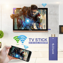 EZCast 4K x 2K H-D-M-I WiFi Display Dongle Receiver 2.4G/5G Dual Band H.265 4K Decoding Stick Support MiraCast AirPlay DLNA
