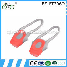2015 classic led flexible strip light bike silicon light for bicycles