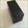 Black Painted Wooden Block with Engraved Signs