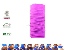 Stretchy Polyester Microfiber Headwear for hiking