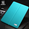 2017 Kaku 2 foldable both sides tablet protective transformer smart flip pc +pu leather cover case for ipad mini