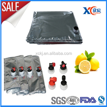 10L aseptic Bag Metalized liquid bag with spout