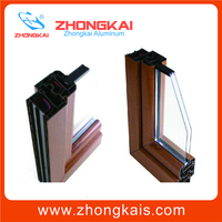 Customized structural aluminum extrusion section aluminum alloy
