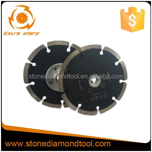 Diamond Saw Blades with Flange for Cutting Stone from 115 mm to 230mm