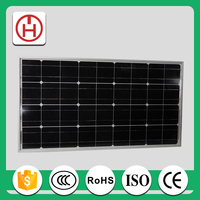 cheap 110 watt solar panel with RoHS