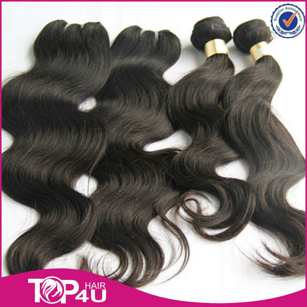 Natural Hair Products 2014 New Arrival Unprocessed Body wave Brazilian Human Hair Extension