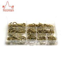 VALUE PACK Metal L shape hooks & cup hooks